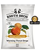 Sore Throat Lozenges with Pectin by Smith Brothers (Warming Apple Pie, 90 Count): Vintage Candy Throat Drops - The Original American Cough Drop