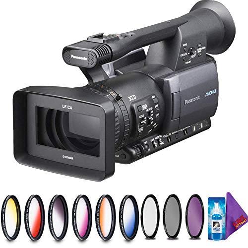 Best Deals! Panasonic AG-HMC150 AVCCAM Camcorder + Creative Filter Kit (Renewed)