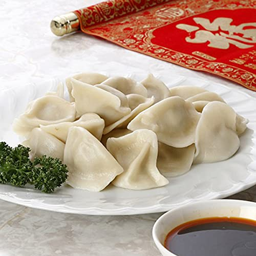 友盛貿易) 山東三鮮水餃子 (エビ入) 1kg (約50個入)