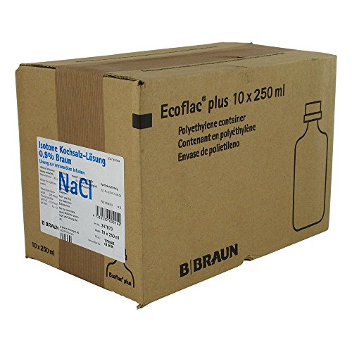 Kochsalzlösung 0,9% Ecoflac Plus, 10X250 ml