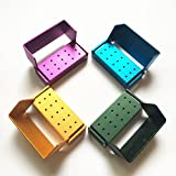15 Holes Autoclavable Dental FG High Speed Burs Holder Blocks 4pcs/set...