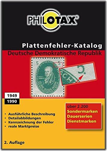 Plattenfehler Katalog DDR 2. Auflage: Sondermarken, Dauerserien,Dienstmarken