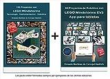 Pack 2 libros LEGO: 80 Proyectos de Robótica con LEGO MINDSTORMS EV3 App para tabletas + 150 Proyectos con LEGO Mindstorms