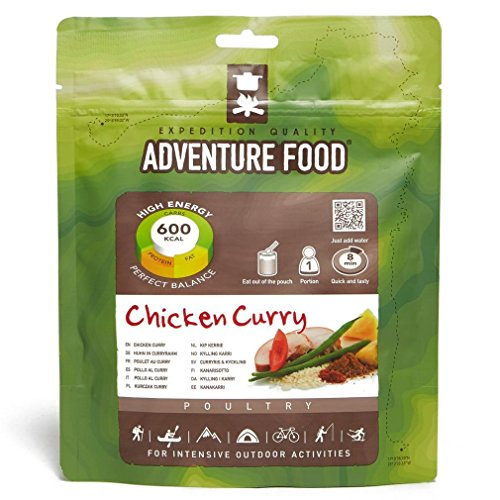 TREKMATES ADVENTURE FOODS MAIN MEALS CHICKEN CURRY FOR 1 PERSON (GREEN POUCH)