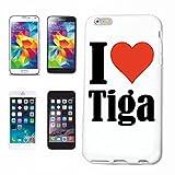 Reifen-Markt Handyhülle kompatibel für iPhone 7 I Love Tiga Hardcase Schutzhülle Handy Cover Smart Cover
