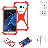 K-S-Trade® Mobile Phone Bumper + Earphones For Thomson