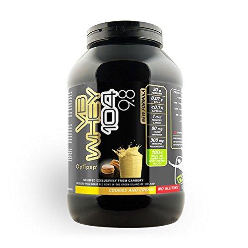 VB WHEY 104 9.8 (900g) Proteine isolate idrolizzate (GUSTO Cookie and Cream) - NET Integratori