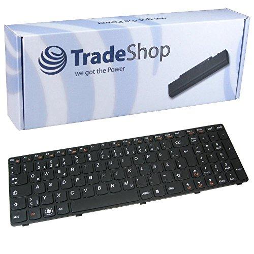 Trade-Shop Premium Laptop-Tastatur/Notebook Keyboard Ersatz Austausch Deutsch QWERTZ für IBM Lenovo IdeaPad G580 G580A G585 G585A Z580 Z580A Z585 Z585A V580 V580A V585 (Deutsches Tastaturlayout)