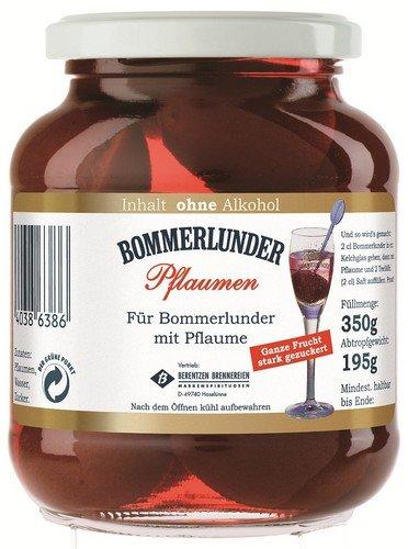 Bommerlunder Pflaumen, ohne Alkohol 350g