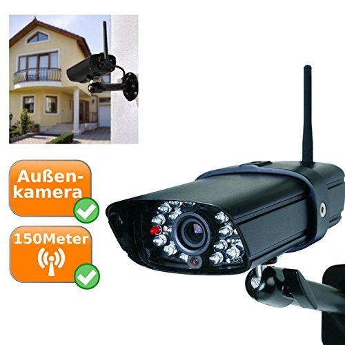 Zusatzkamera für CS87T, bis zu 15Meter Nachtsicht mit Infrarot LED´s, Funkreichweite bis zu 150Meter