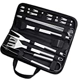Aiglam 20Pcs Barbecue Tool, Stainless Steel BBQ Tools Sets BBQ Grill Tool Kit