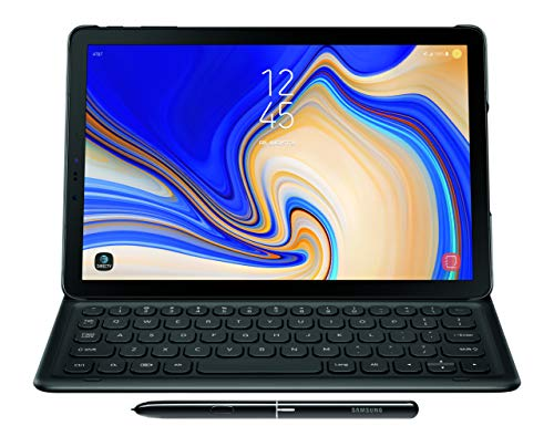 Samsung Electronics EJ-FT830UBEGUJ Galaxy Tab S4 Book Cover Keyboard, Black