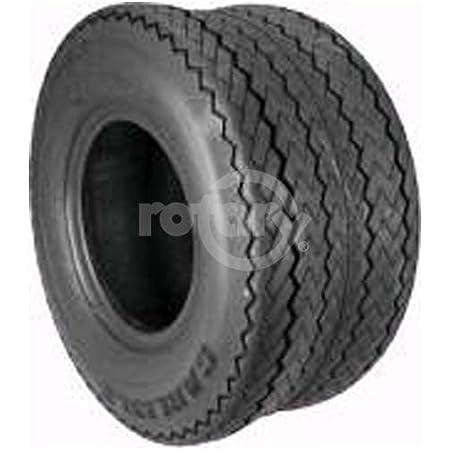 Rotary # 8939 Lawnmower Tire 18 x 850 x 8 Golf Course Tread Tubeless 4 Ply Carlisle Brand