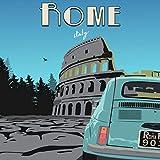 L Lumartos Vintage Rom Poster, modernes Heimdekoration, nur
