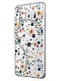 Alsoar ersatz für Samsung Galaxy S7 Hülle, Samsung Galaxy S7 Case,Transparent Weiche Silikon [Ultradünnen] Flexibel Bumper Handyhülle TPU Kratzfest Stadt-Serie Schutzhülle für Samsung S7 (Blumen)