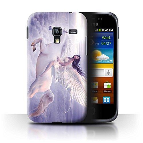 Stuff4 telefoonhoesje/hoes voor Samsung Galaxy Ace Plus/S7500 / Ik kan vliegen ontwerp/Fantasy Engel Collectie