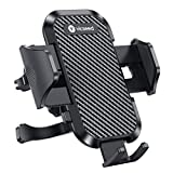 VICSEED 2020 Upgrade Ultra Stable Car Phone Mount Easy Clamp Universal Car Phone Holder Air Vent Cell Phone Holder for Car Fits for iPhone SE 11 Pro X XS Max XR Galaxy S20 S20+ Note 10 10+ All Phones
