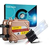 KOYOSO Lampadine H1 Kit Xenon HID 6000K 50W Slim Centraline Lampade di Avvio Rapido