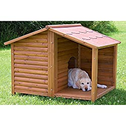image of rustic dog house by Trixie