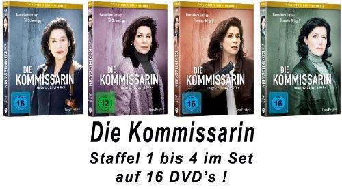 Die Kommissarin - Vols. 1-4 (16 DVDs)