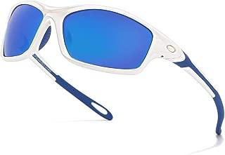Polarized Sports Sunglasses for Men Women Cycling Sun...