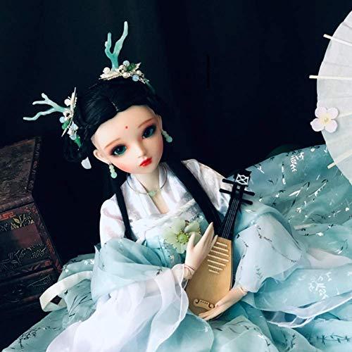 1/3 BJD pop 23,6 inch kogelgewricht SD pop DIY speelgoed met alle kleding schoenen pruik make-up papier paraplu, beste cadeau voor meisjes en elk festival