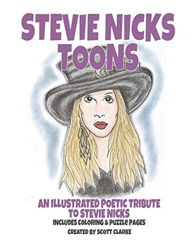 Stevie Nicks Toons: Stevie Nicks-toons, puzzle and coloring book