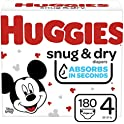 360-Count (2 x 180) Huggies Snug & Dry Baby Diapers (Size 4)