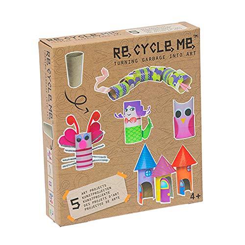 Re Cycle Me - Papierbastelsets für Kinder in Recycle Mich, Größe Bastelmix