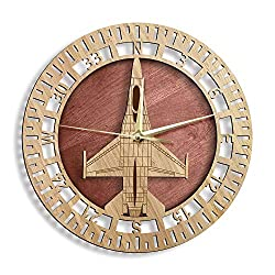 gifts for pilots ~ wall clock