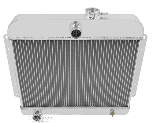 Champion Cooling, 3 Row All Aluminum Radiator for Willys Trucks/Wagons, CC4964