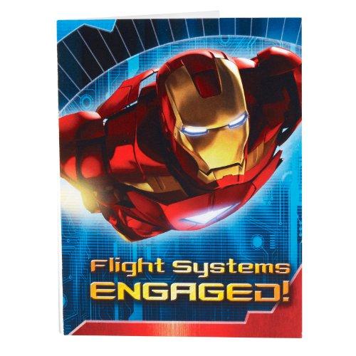 Hallmark - Iron Man 2 - Invitations avec Enveloppes - Pack de 8