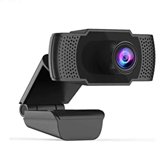 Anonyme Web Camera Built-in Microphone Webcam USB Plug and Play for PC Computer for School Office Working Decoration Black