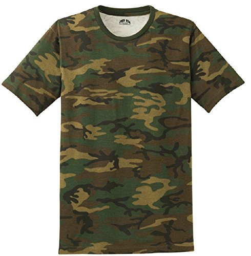 Joe's USA - Mens Military Camo-Camouflage T Shirts-L