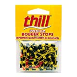 Thill Floats Premium Bobber Stops, Fluorescent Yellow (BS040)