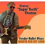 Dakota Red Get Loud - Fender Bullet Blues
