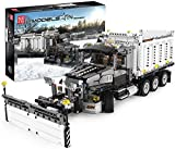 FYHCY Camión quitanieves - Mold King Technic 13166 - Kit Personalizado Compatible con camión de Basura Lego Technic 42078 Mack Anthem - 1694 Piezas