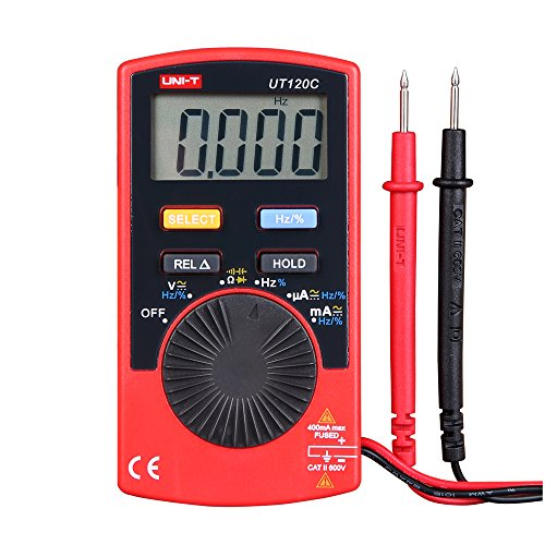 uni-t UT120C super slim tasca palmare digitale multimetri DC/AC Amp tester