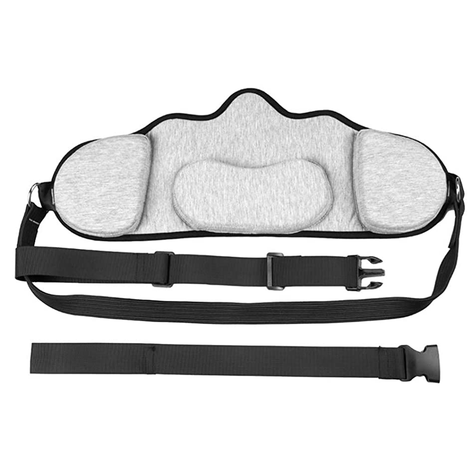 付与なめるドール2パック耐久性のあるポータブル首牽引&リラクゼーションハンモック、オフィスワーカーのドライバーのためのセルフマッサージャーと肩の痛みサポーターを持つ人はリラックスデバイス
