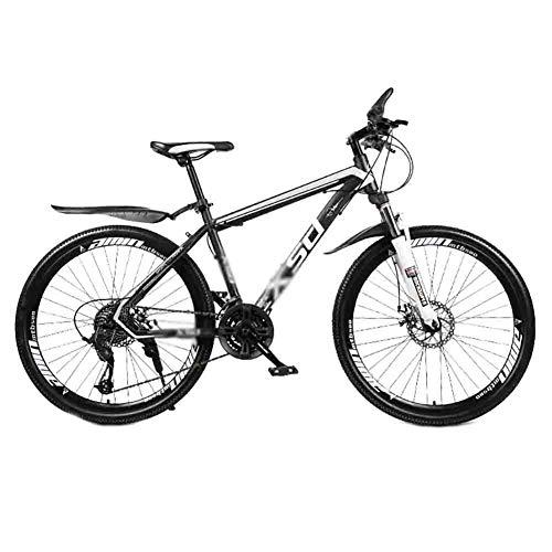 LIUCHUNYANSH Mountain Bike Bicicleta para Joven MTB MTB Adulto Camino de la Bicicleta Bicicletas de la Ciudad Amortiguador Ajustable Velocidad Bicicletas for Hombres y Mujeres de Doble Freno de Disco