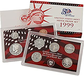 1 S 1999 thru 2009 Silver Proof Sets - 11 Set Combo Deal Proof