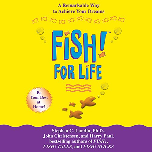 Fish! For Life audiobook cover art