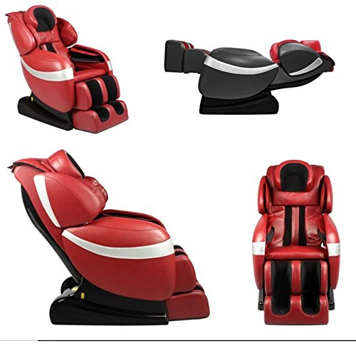SOBO 3D Exquisite Rhythmic Massage Chair with 30 Air Bags (Red)