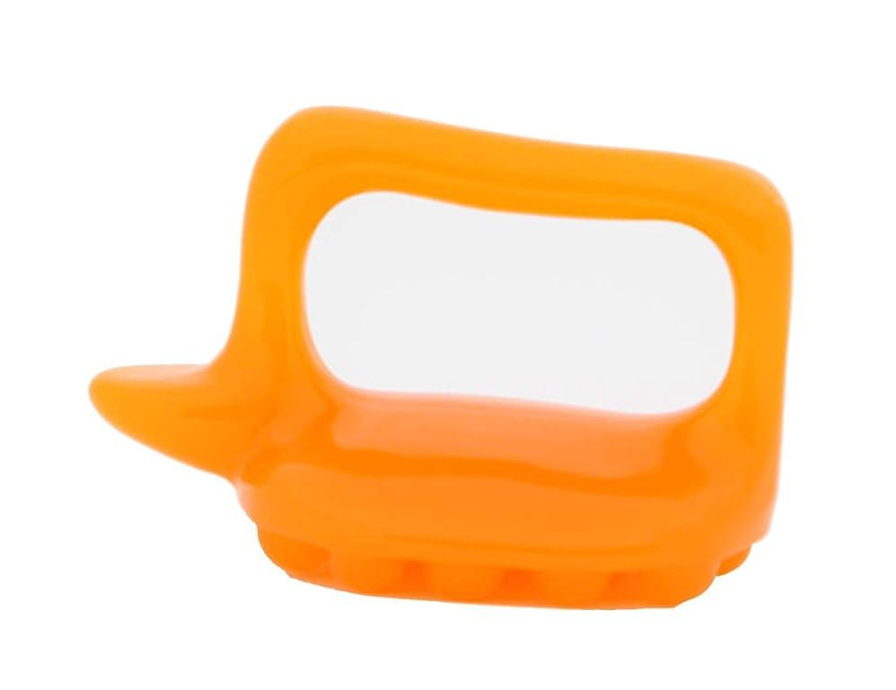 梨インタラクションカプセルボディマッサージ首の背部頭部のための携帯用蜜蝋の樹脂のマッサージ用具4つの形の選択 Elitzia ETML1067 (オレンジボディマッサージタートル)