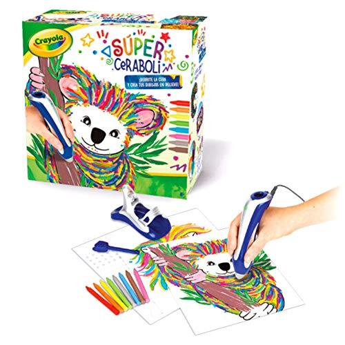 BricoLoco. Super ceraboli Crayola Koala. Calienta crayón. Juego de manualidades pintar