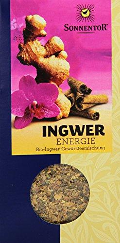 Sonnentor Ingwer Energie-Tee lose, 1er Pack (1 x 100 g) - Bio