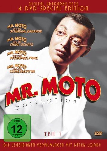 Mr. Moto Collection - Teil 1: Mr. Moto und die Schmugglerbande / Mr. Moto und der China-Schatz / Mr. Moto und der Dschungelprin