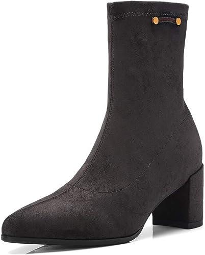 AdeeSu SXE04102, Sandales Compensées Femme - gris gris gris - gris, 36.5 EU 92b
