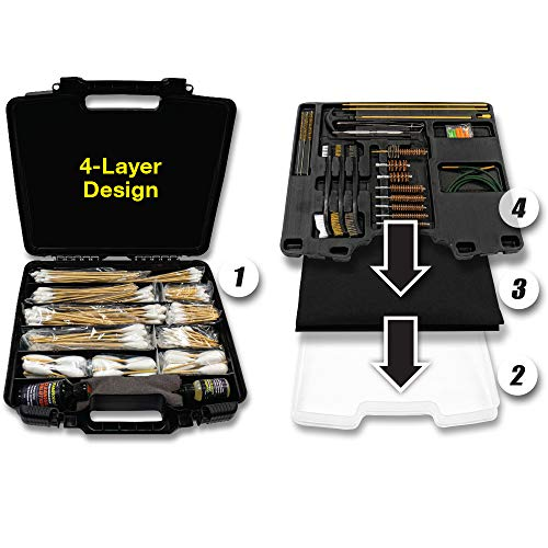 Find Bargain Innovative Products Of America RamRodz Universal Gun Cleaning System – with Solvents and Cleaning Mat