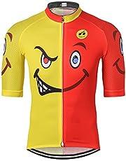 weimostar - Maillot de ciclismo de montaña para hombre, manga corta, S-3XL, transpirable y secado rápido